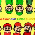 Mario & Luigi Shorts