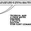 I Need Some Trekkie's~