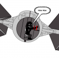 attempt at a tie fighter