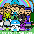 We are the Friend Bunnies