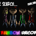 The search for the Rainbow Unicorn