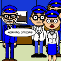 bitstrip police