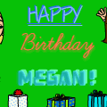 Happy Birthday Megan!