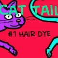 Cat Tails #1 Hair dye