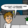 the hockey tournament