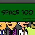 Series 112121: Space 100 by Pauly Hart