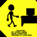 'Caution! Bitstrips'