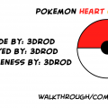 Pokemon HeartGold Journal By: 3DROD