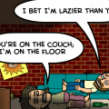 Theme of the day: Laziness 3