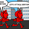 the elfs atack briton