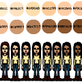 Skin Colour Codes