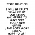 Strip Deletion