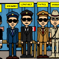 bitstrip police force