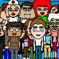 All the bitstrips characters
