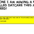 daycare!