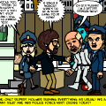 Rupert ruin's Glitter's arrest