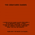 The CREATURES Diaries...