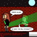 Comic Stooge Hero of The Night!