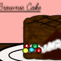 Icecream Brownie Cake