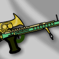 'Steampunk Lazor Rifle'