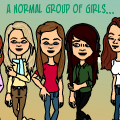 A normal group of girls (canceled)
