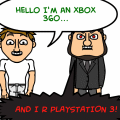 Xbox360 v.s PlayStation 3!