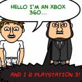 Xbox360 v.s PlayStation 3!