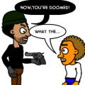 'gun' 2
