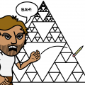 Sierpinski gets tired