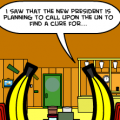 'Bananas At a Restaurant 6'