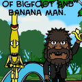the adventures of bfoot & bman