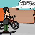 Skate-biking