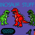 Dinosaur stuff!