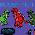 Dinosaur stuff!