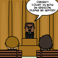 Rehty Goes to Court