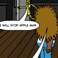 applevsbanana:dead of apple
