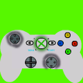 silver xbox control