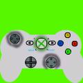 silver xbox control