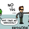 The No and yes comics