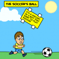 the soccer's ball