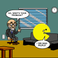 Pacman psychiatrist