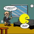 Pacman psychiatrist