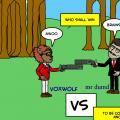 Zombie vs Voxwolf