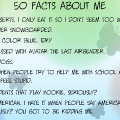 {50 Facts About Me}