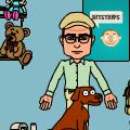 Fletcher and Dog Play