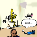 Obama Rencontre Homme Banane