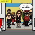 My VAMPYRE World - Subway Ride