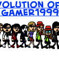 Evolution of gamer1999