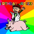Happy birthday jedizzzz
