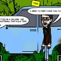 ' Old island jigolo-taxi man'